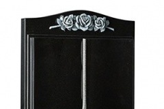 "This version of the popular worked book has a unique turned page feature - shown in dense black granite.Headstone 30"" (h) x 24"" (w) x 4"" (d)Base 3"" (h) x 30"" (w) x 12"" (d)Product code - EC142"
