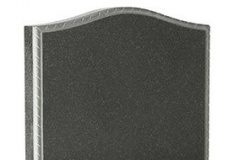An alternative edge is the elegant rope edge moulding - Shown in Avon Grey GraniteProduct code - 16028